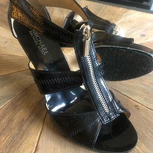 Black MK heels